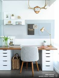 Home Office Desk Chair Ikea by Simple Clean Beautiful Workspace Home Office Pinterest