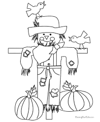 Kids Thanksgiving Coloring Pages To Print