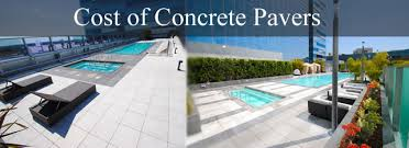 concrete pavers cost tile tech pavers