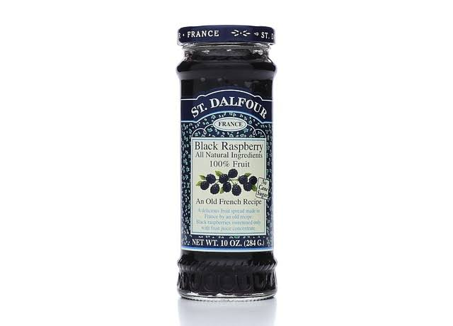 St. Dalfour All Natural Fruit Spread - Black Raspberry