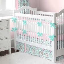 Arrow Crib Bedding by Modern Crib Skirts Aqua Haute Baby Crib Bedding Carousel Designs