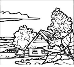 Disegno 06 Coloring Pages For Adults And Teenagers Landscapes