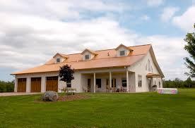 Pole Barn House That Show Classic Construction Details