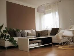 wohnzimmer ideen wandgestaltung braun architektur living