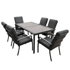 Details About Quatropi Large 16 Round Black Oak Dining Set 8 High Grey Dining Chairs