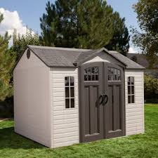 Sams Club Vinyl Outdoor Storage Sheds by Costco Lifetime 10 Ft X 8 Ft Outdoor Storage Shed For The