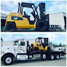 100 Cat Lift Trucks Sold PD12000 Headed To Washington