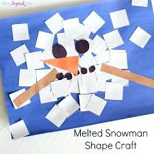 Easy Winter Craft Ideas For Preschoolers Crafts Preschool Kids And