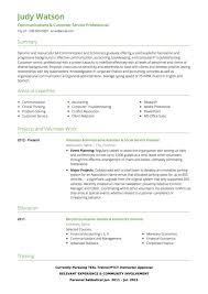 Resume Sample Sales Customer Service Template Screen Shot At PM