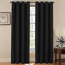 Sound Reducing Curtains Amazon by Amazon Com Beautyrest 11239042x108bk Chenille 42 Inch By 108 Inch