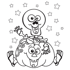 Halloween Coloring Pages Pictures Drawings Printable
