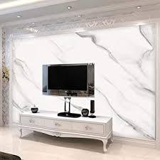 benutzerdefinierte wandtapete 3d einfache jazz weiß marmor