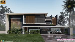 104 Contemporary Modern Floor Plans Minimalist Style Home With 5 Bedrooms Kerala Home Design And 8000 Houses