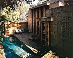 100 Frank Lloyd Wright Textile Block Houses Storer House 1923 Hollywood Hills Period