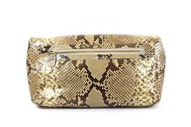 nancy gonzalez cream shaded python clutch u2013 encore consignment