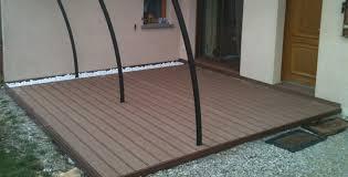 nivrem pose terrasse bois composite sur dalle beton