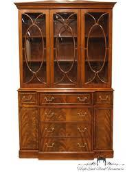 Jasper Cabinet Company Secretary Desk by Spectacular Deal On Jasper Cabinet Mahogany 49 Breakfront