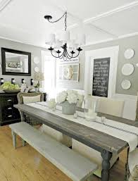 Nice Kitchen Table Decor 70 Lasting Farmhouse Dining Room And Decorating Ideas