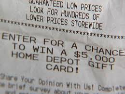 Curious Does Anyone Ever Win Store Receipt Survey Contests  CBS