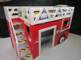 100 Fire Truck Loft Bed For More Info On This Bed Go To Bigrigbedsllccom