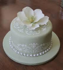 Magnolia Bridal Shower Cake