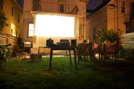 How To Project A Movie Outside | POPSUGAR Tech Diy How To Build A Huge Backyard Movie Screen Cheap Youtube Outdoor Projector On Budget 6 Steps With Pictures Elite Screens Yard Master 200 Projection Screen Rent And Jen Joes Design Best Running With Scissors Diy Pics Charming Open Air Cinema 16 Feet Home For Movies Goods Projector Screens Theater Guide People Movie Theater Systems Fniture And Ideas Camp Chef Inch Portable Photo Watching Movies An Outdoor Is So Fun It Takes Bit Of