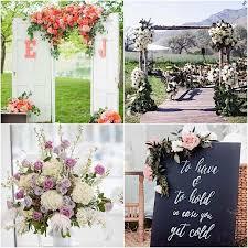 Awesome Garden Wedding Ideas Elegant Ceremony Modwedding