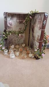 Wedding Decorations Candle Holder Table Centrepiece Mason Jar Rustic Decor