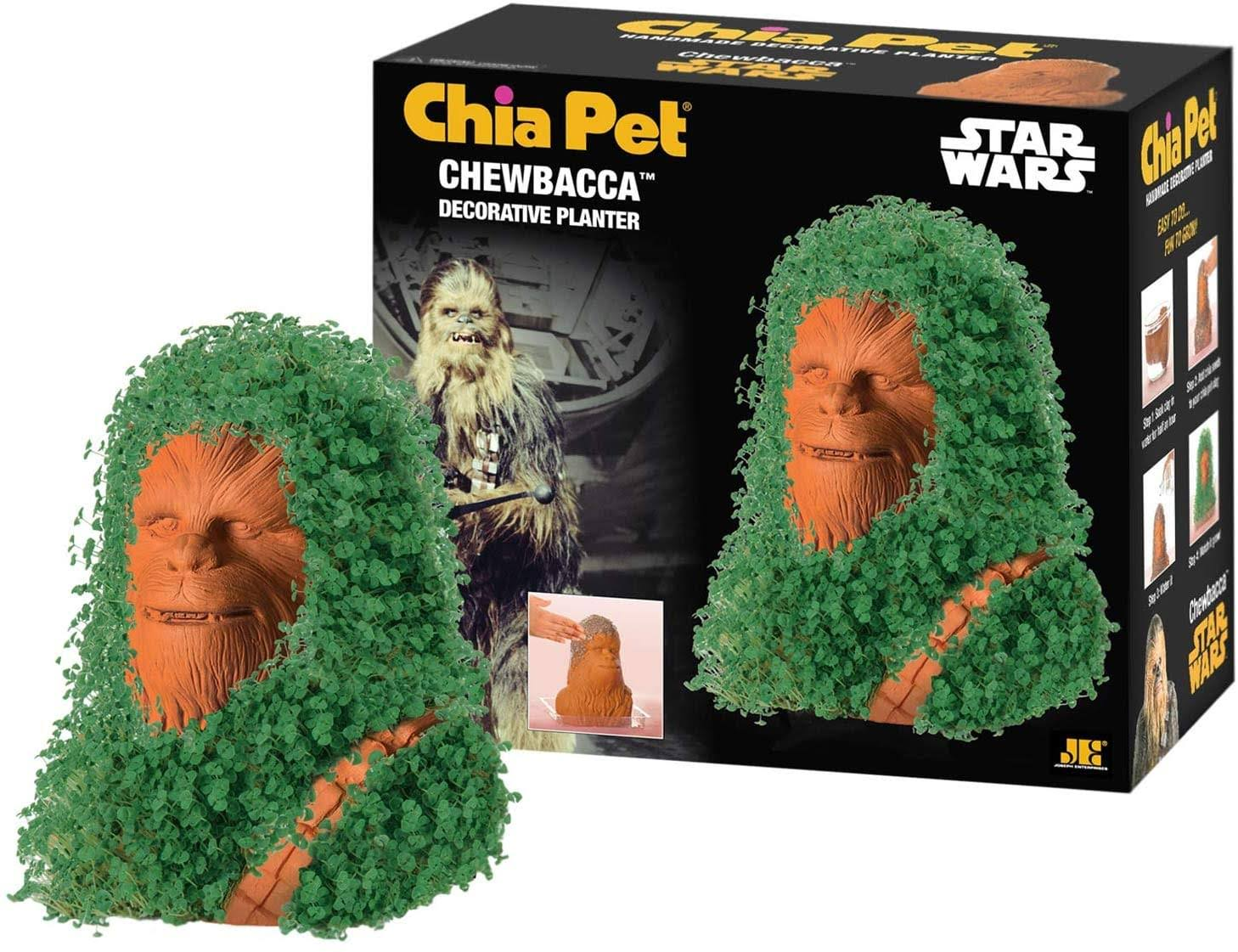 Star Wars Chewbacca Chia Pet Decorative Planter