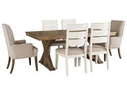 Signature Design By Ashley Grindleburg 7 Piece Rectangular Table And ... Kids Table And Chairs In Pine Woodnatural Kids 60 X 2 Kaubystorns Table 6 Chairs Antique Stain 201 Cm Ikea Rustic Seats 10 Recycled Reclaimed Wood With Natural Ikayaa Modern 5pcs Pine Wood Ding Set Kitchen Dinette Amazoncom Hcom 5 Piece Solid High Back Pcs Wunderbar Sheesham 8 Round Grey Side Silk Decor Elegant Bench For Inspiring Bedroom Fniture 4 White Natural Sold Annika Bistro Two Noa Nani Signature Design By Ashley Grindleburg 7 Rectangular 4d Concepts Urban Loft 3piece Breakfast