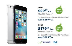iPhone Black Friday Deals in Canada 2015