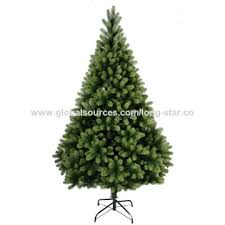 China 7ft Pre Lit PE PVC Mixed Christmas Tree
