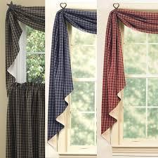 Sturbridge Curtains Park Designs Curtains by Sturbridge Fishtail Swags Primitive Home Decors