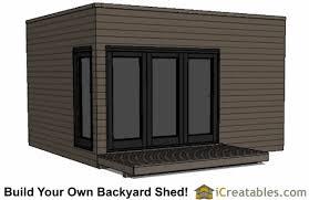 modern shed plans modern diy office studio shed designs