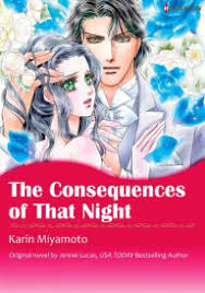 THE CONSEQUENCES OF THAT NIGHT Harlequin Comics