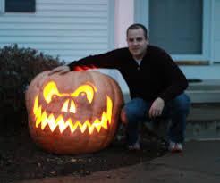 Homemade Fertilizer For Pumpkins by Giant Pumpkins Make Giant Jack O Lanterns 9 Steps With Pictures