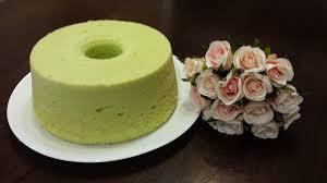 pandan chiffon cake bakefun
