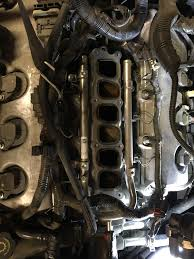 Replace The Valve On A by How To Remove Upper Intake Manifold Replace Spark Plugs And