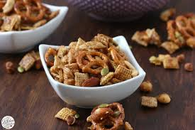Pumpkin Spice Chex Mix by Slow Cooker Cinnamon Maple Chex Mix A Kitchen Addiction