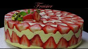 fraisier herve cuisine fraisier strawberry cake bruno albouze the deal cakes