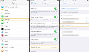 Tip how to add a new email to your iMessage account in iOS