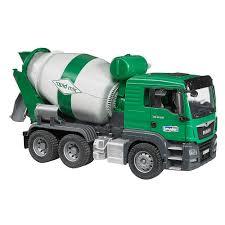 100 Bruder Cement Truck Man TGS Mixer Green