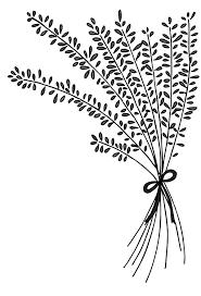 Lavender Flower Arrangement Coloring Pages