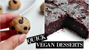 healthy desserts vegan friendly easy