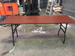 Secondhand Chairs And Tables | Folding Tables | 20x 6Ft Wooden ... Lifetime 72 In Black Plastic Stackable Folding Banquet Table280350 Luan 18x72 6 Ft Seminar Wood Table Vinyl Edging Bolt Solid Trestle 8 Folding Chairs Set Best Price Barnsley Uk For Rent Portable 6ft Rattan Design Fniture Lerado 6ft Foldin Half Rect Table Raptor Almond Table22900 Home Depot Canada Tables 6ft And Chairs Lennov 18m Outdoor Camping With Ft Commercial Combo Youtube Exciting Cosco Interesting Tfh Gazebos And Chair Set Indoor Use