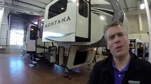Fifth Wheel Campers With Front Living Rooms by 2016 Keystone Montana 3710fl Six Slide Front Living Room Fifth