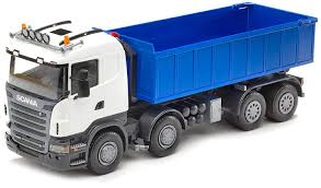 RC White Scania Truck Toy Remote Control By Bruder Trucks T