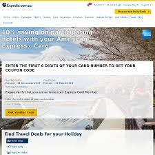 10% Off Expedia For Participating Hotel Bookings With American ... Goibo Offers Aug 2019 Up To Rs3500 Off Coupons Promo Codes Expedia Coupon Code For 30 Off Hotels Till 31 Jan 2017 8 Best Hotelscom Discount Codes Tested Verified How To Book On Klook Blog 10 Percent Ebay Coupon 2018 Canada By Mail Motel 6 Promo Code Evening Standard Meal Deals Makemytrip Flights Booking Flat Rs Get Exclusive Discount Vouchers In Iprice Hockey Hall Of Fame Amerigas Propane Exchange Agoda 75 Extra 5 Finder Atlas Uncovered