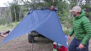 Truck Camping: Setting Up Your Truck Rain Tarp Using A Hiking Pole ... Blue Roof Tarps In Texas Femagov Cover Tarps Linco Precision Llc Buyers 5544000 12v Tarp Kit Alinum 4 Spring 600w901 1 Vinyl Truck Load Philux Photo Dump Installation Photograph Of A Transporting Rocket That Is Covered By New Mechanical System For Youtube Do It Drawstring Lawn Cleanup 755648 Best Amazoncom Products Dtr7515 75 X 15 Roll Fema Self Help Medium Polyethylene Poly Fire Rated