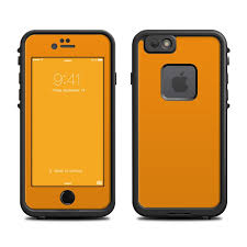 Lifeproof iPhone 6 Fre Case Skin Solid State Orange by Solid